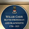 williecarrplaque