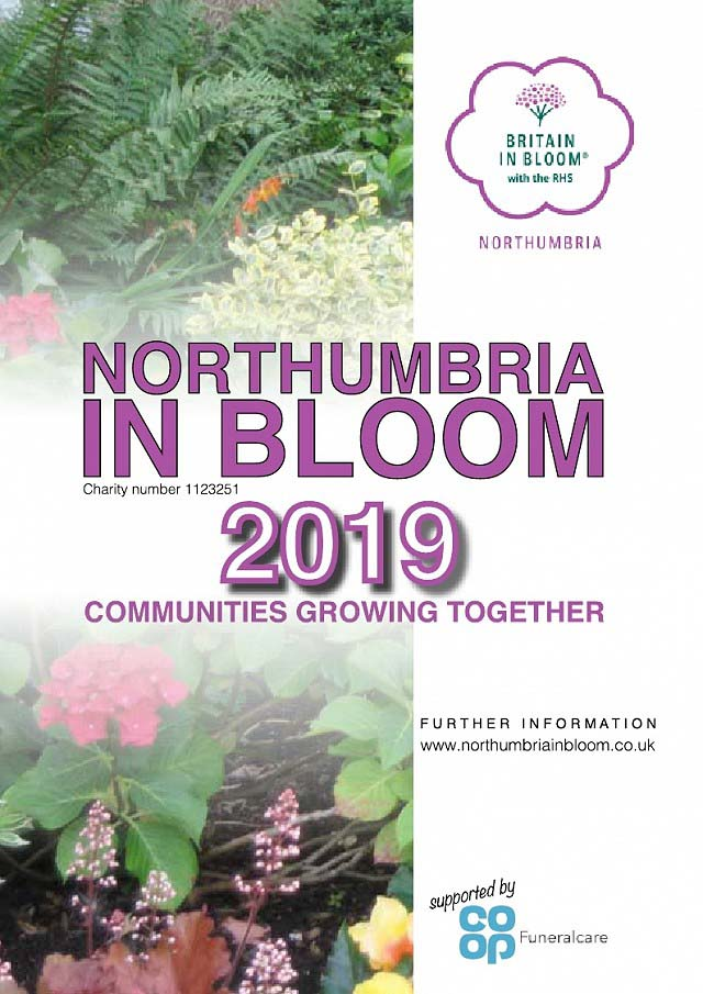 Northumbria in Bloom 2019 Poster
