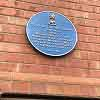 Blyth's First Theatre Plaque